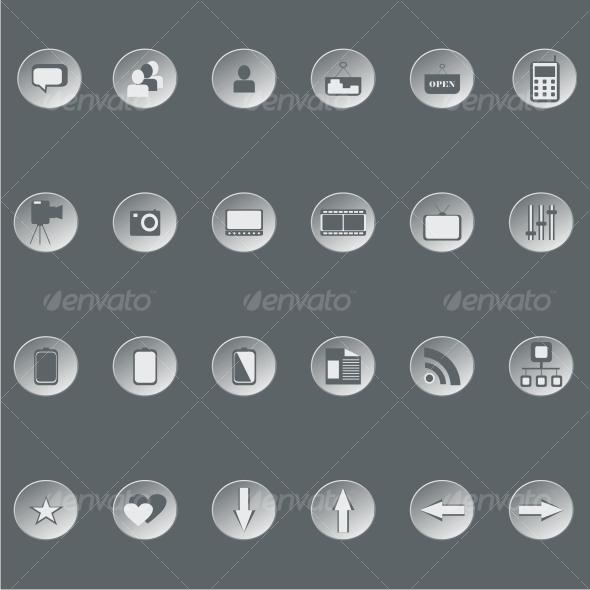 Retro web buttons - Web Technology