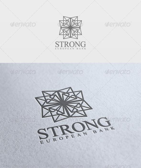 Strong Logo - Vector Abstract