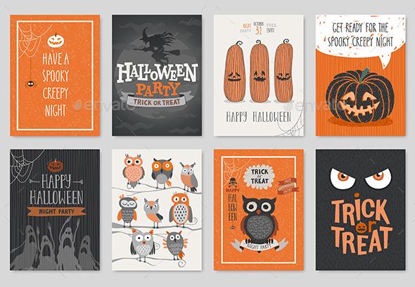 Halloween Hand Drawn Invitation - Halloween Seasons/Holidays