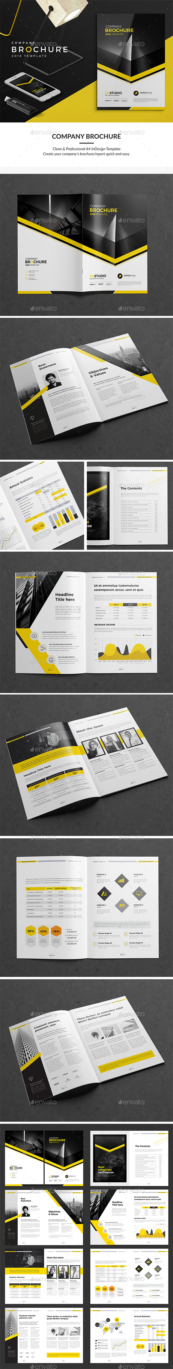 GraphicRiver YB Company Brochure 16 Pages 20420294
