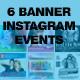 Instagram Banner Events - GraphicRiver Item for Sale