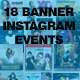 Instagram Banner Events Bundle