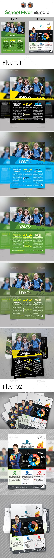 Junior School Promotion Flyer - Corporate Flyers