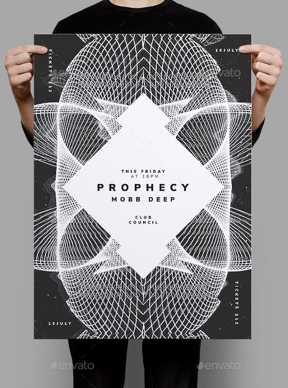 Prophecy Flyer Poster - Clubs & Parties Events