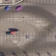 Top View of Drifting Cars