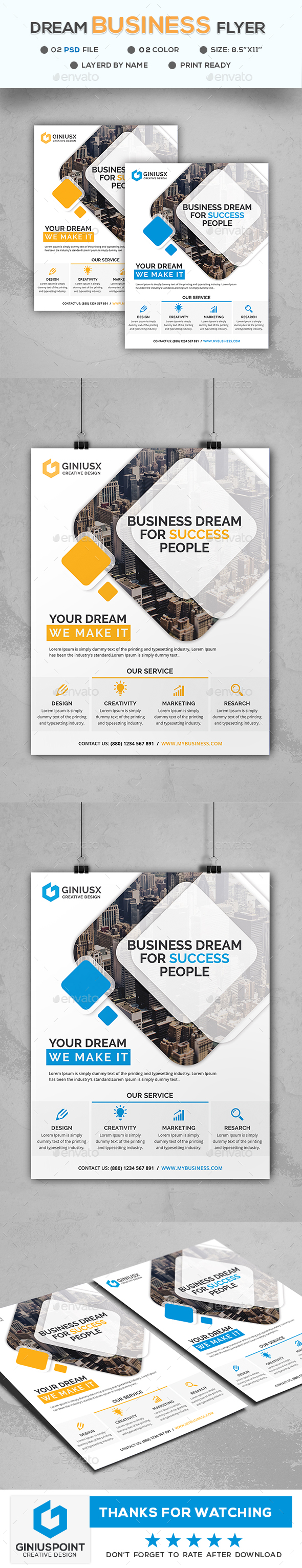 Dream Business Flyer - Corporate Flyers