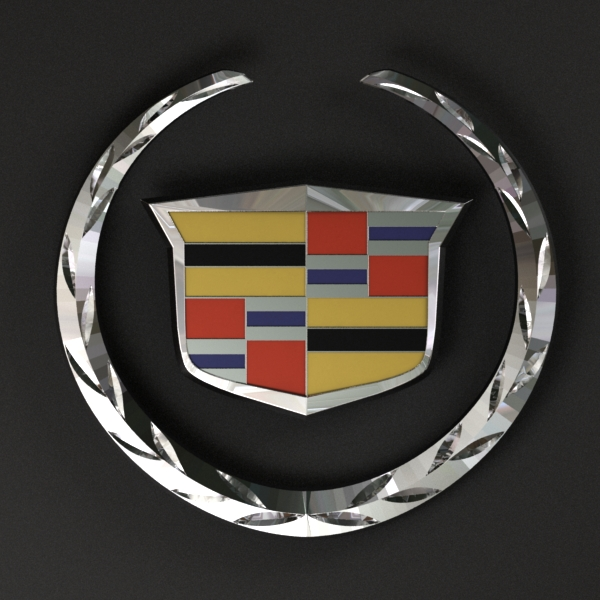 Cadillac Logo - 3DOcean Item for Sale