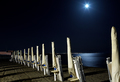 Beach Under Full Moon - PhotoDune Item for Sale