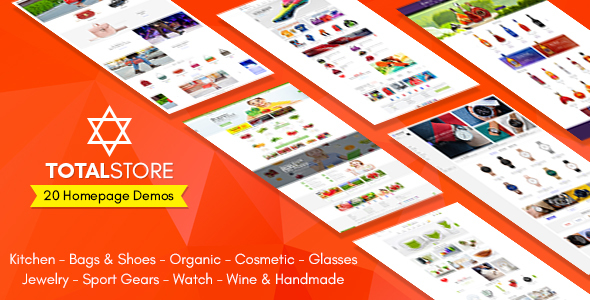 TotalStore – All in One Niche Store Ecommerce PSD Template v1.0