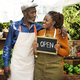 African couple owner fresh gracery organic shop - PhotoDune Item for Sale