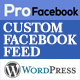 Pro Facebook Feed Responsive - WP