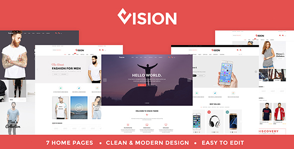 Responsive Woocommerce Theme | Vision
