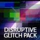 Distruptive Digital Glitch Pack - 35 Glitch Transitions - VideoHive Item for Sale