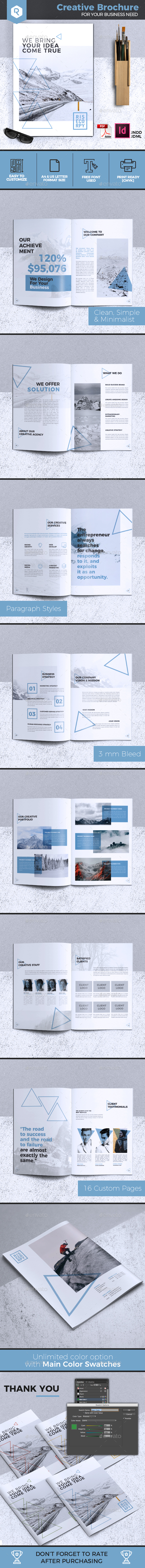 Creative Brochure Template Vol. 30 - Corporate Brochures