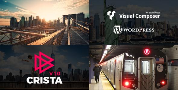 Crista - Video Blog WordPress Theme - News / Editorial Blog / Magazine