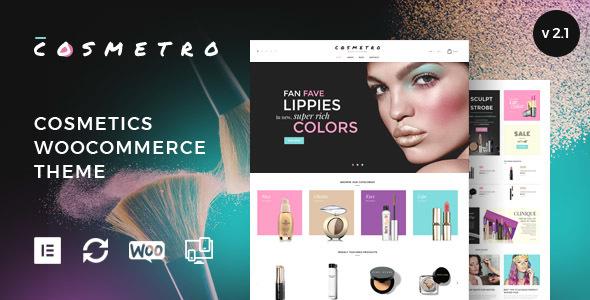 Cosmetro - Cosmetics Store WooCommerce Theme