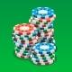 Casino Chips Isometric Vector Illustration
