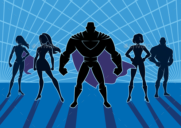 Superhero Team 2 - Miscellaneous Characters