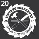 20 Carpenter Vintage Labels