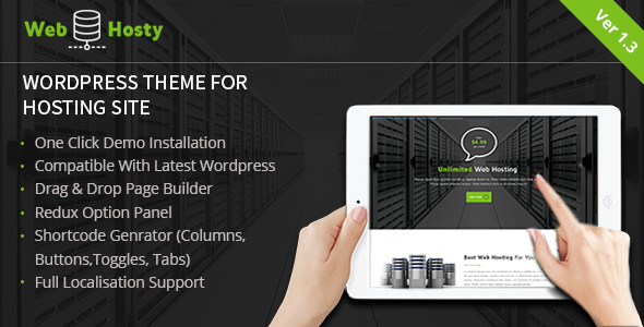 Web Host - Hosting WordPress Theme - Hosting Technology