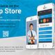 Mobile App Postcard Templates