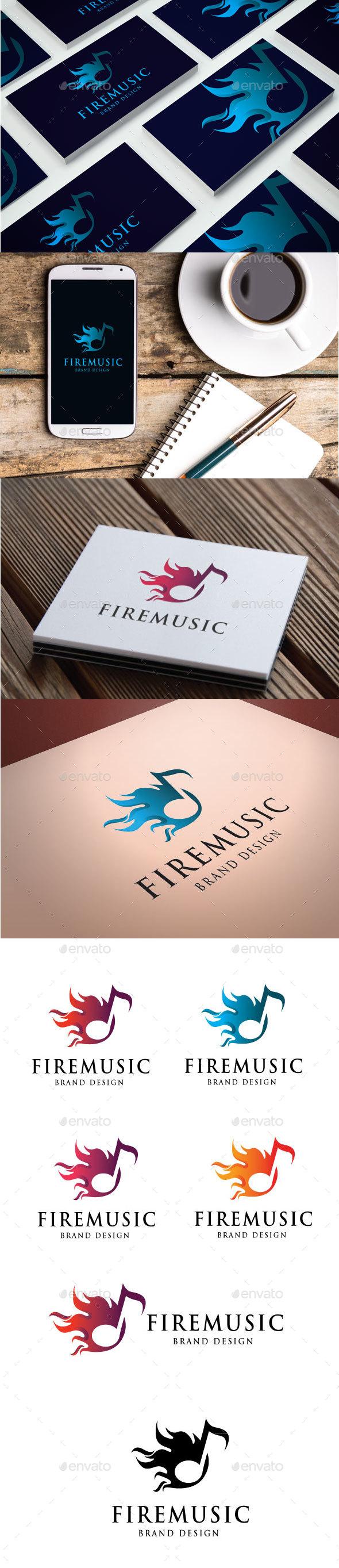 Fire Music Logo