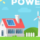All Season Rural House and Alternative Energy Sources - GraphicRiver Item for Sale