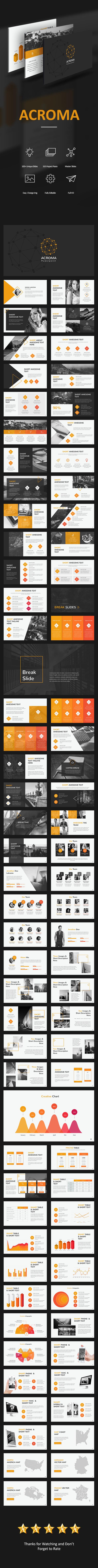Acroma Powerpoint - Creative PowerPoint Templates