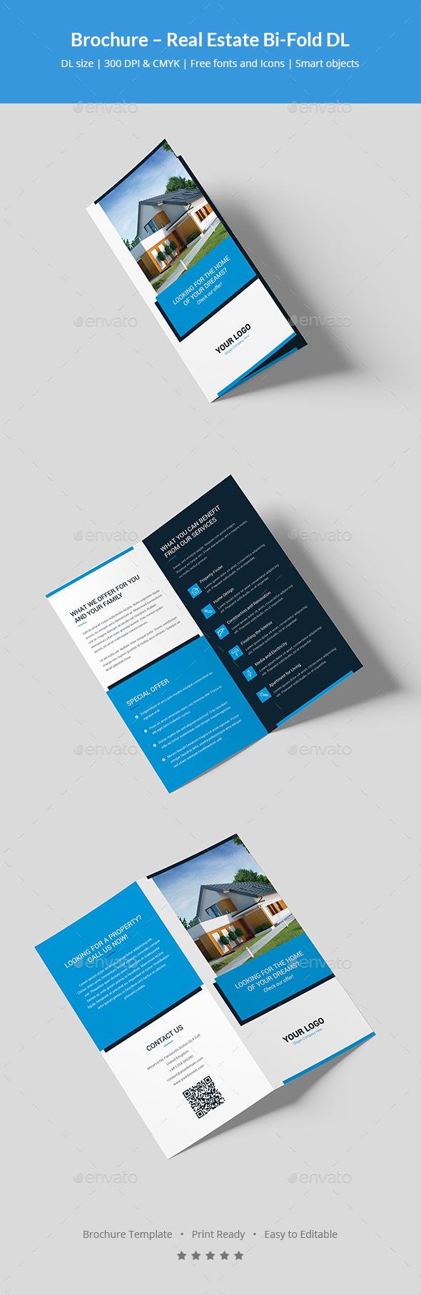 Brochure – Real Estate Bi-Fold DL - Corporate Brochures