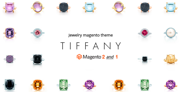 Tiffany - Jewelry Magento 2 and Magento 1 Theme - Magento eCommerce