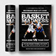 Basket madness flyer