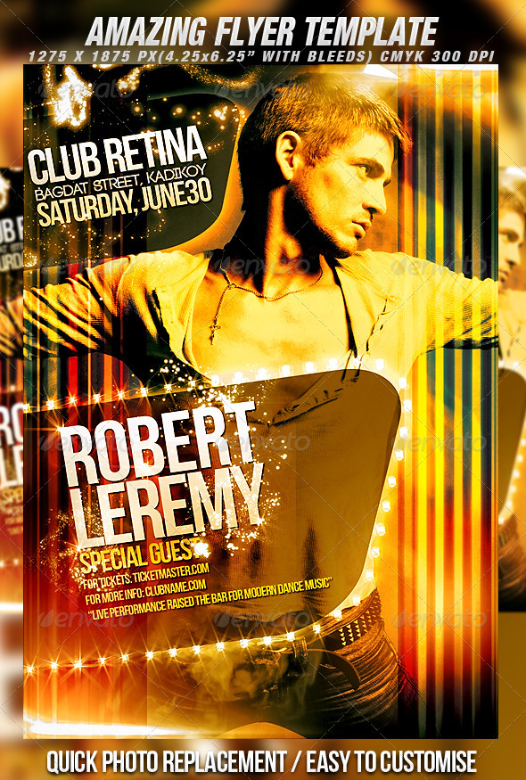 Flyer Series Vol.8 - Clubs & Parties Events