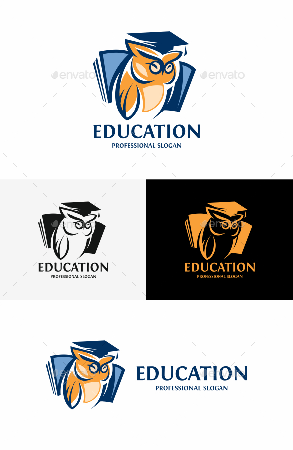 Owl - College Logo Templates