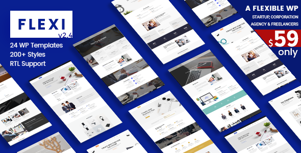 Flexible Responsive Theme | Flexi WP