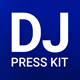 ProDJ - DJ Press Kit / DJ Resume / DJ Rider PSD Template - GraphicRiver Item for Sale