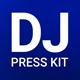 ProDJ - DJ Press Kit / DJ Resume / DJ Rider PSD Template - GraphicRiver Item for Sale