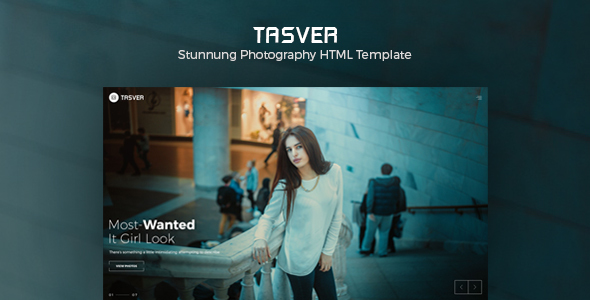 Photography & Magazine Template | Tasver Photography - Creative Site Templates