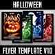 Halloween Flyer Template V10 - GraphicRiver Item for Sale