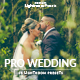 25 Pro Wedding Lightroom Presets