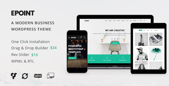 Epoint | A Modern Business WordPress Theme - Business Corporate