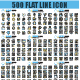 Line Icons - GraphicRiver Item for Sale