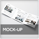 Square Trifold Mock-Up - GraphicRiver Item for Sale