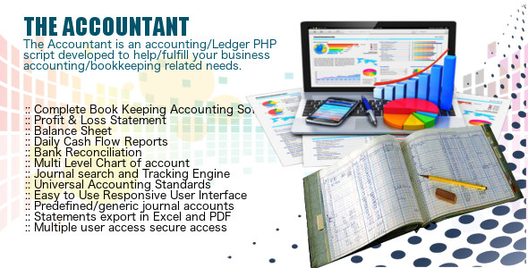 The Accountant - General Ledger - CodeCanyon Item for Sale