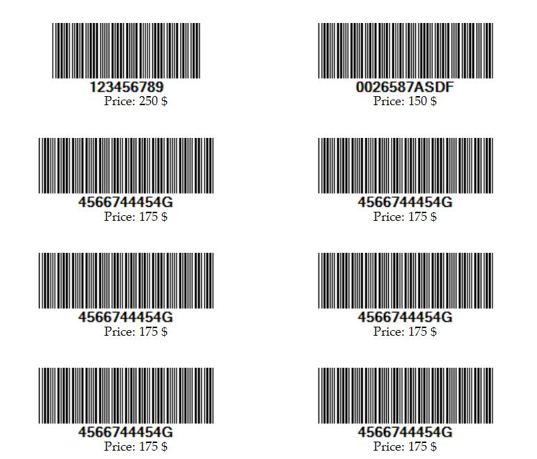 Simple Barcode Generator by unrealsumon | CodeCanyon