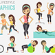 Healthy Lifestyle Infographic - GraphicRiver Item for Sale