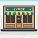 Online Market Infographic Set - GraphicRiver Item for Sale
