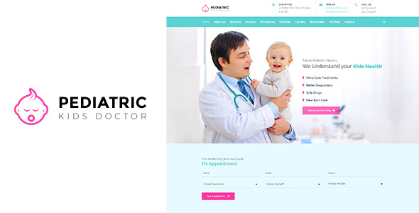 Pediatric | Young children Health-related WordPress Theme (Well being &amp Beauty)