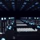 Abstract Futuristic Surface, Endless Corridor