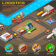 Export Trade Logistics Infographic Banner Vector - GraphicRiver Item for Sale
