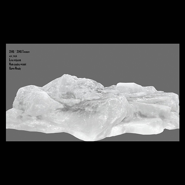 ice 36 - 3DOcean Item for Sale